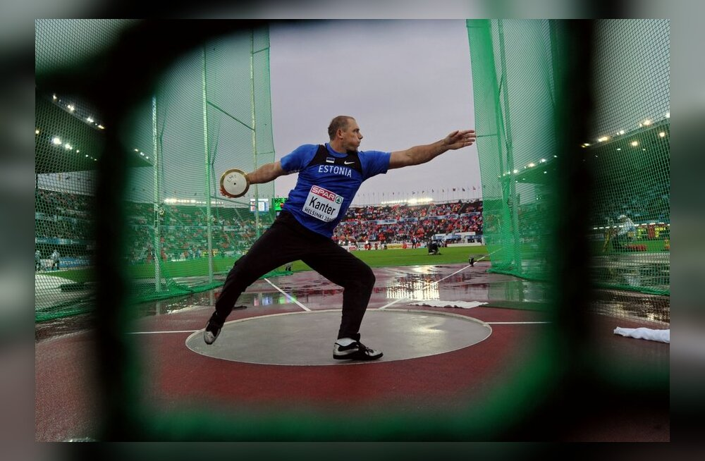Gerd Kanter Helsingi EMil, kergejõustik