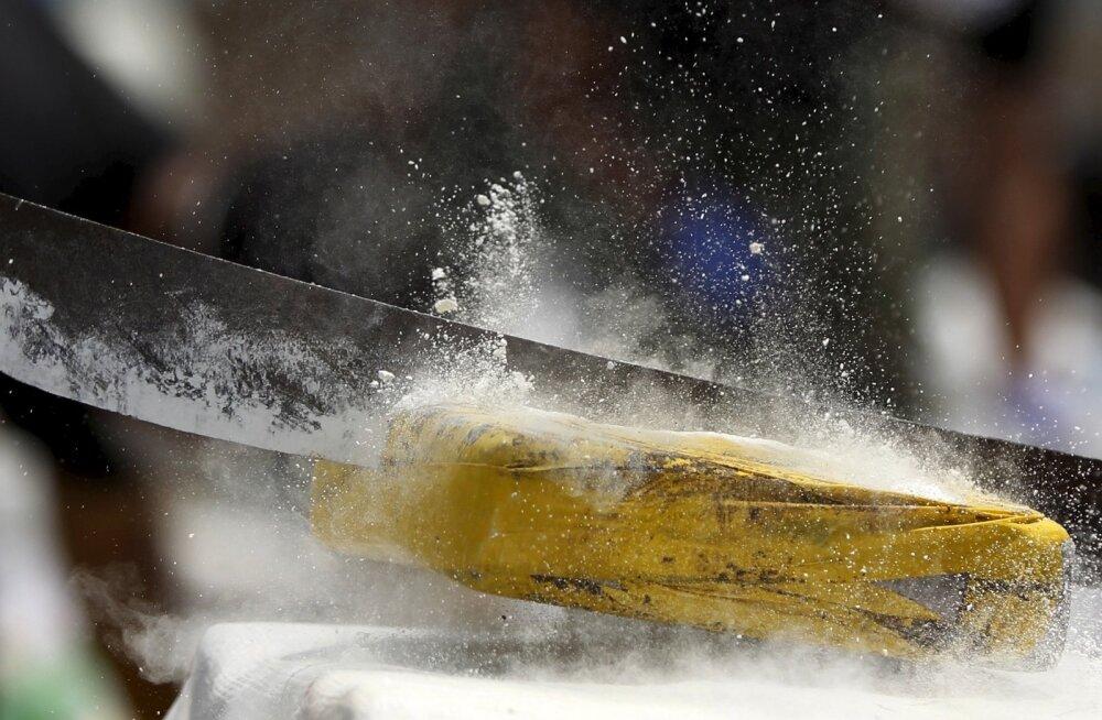 Lätis tabati rekordkogus, enam kui kaks tonni kokaiini
