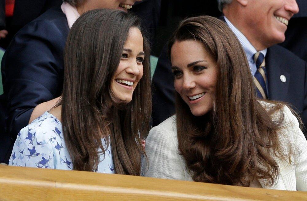 Pippa ja Kate Middleton
