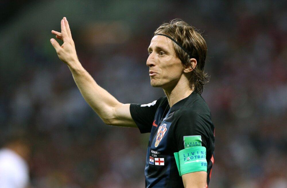 Luka Modric: vahetaksin kõik oma Meistrite Liiga tiitlid MM-i võidu vastu