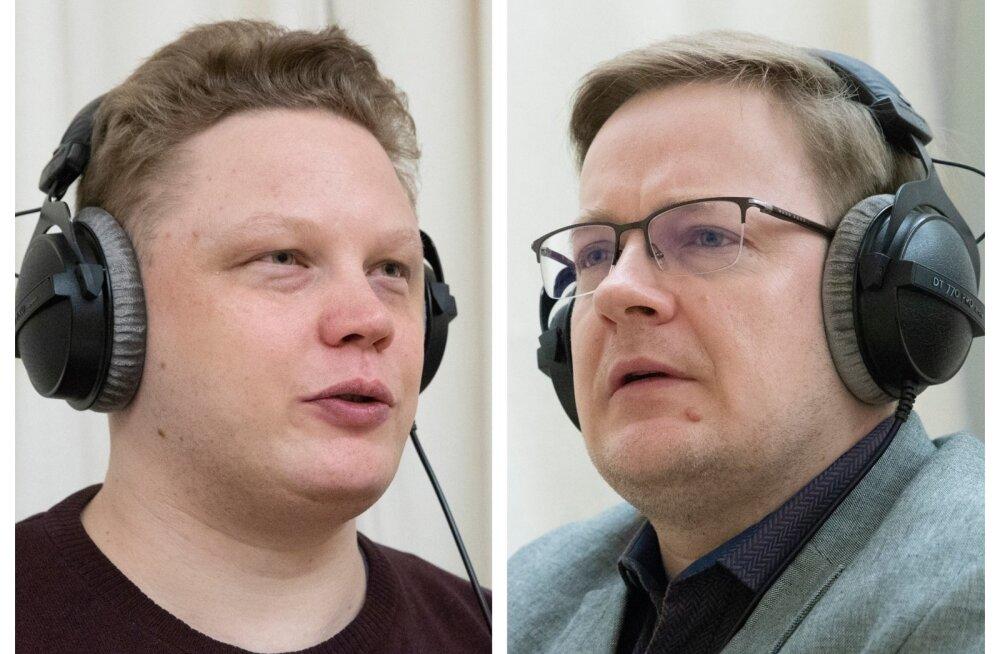 Vahur Koorits ja Erik Moora