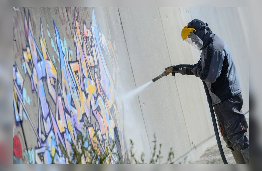 Grafitikunstnik: kui satud pahandustesse, siis ei ole asi selles, et sa joonistasid, vaid selles, et sa joonistasid kuhugi, kuhu sa poleks pidanud