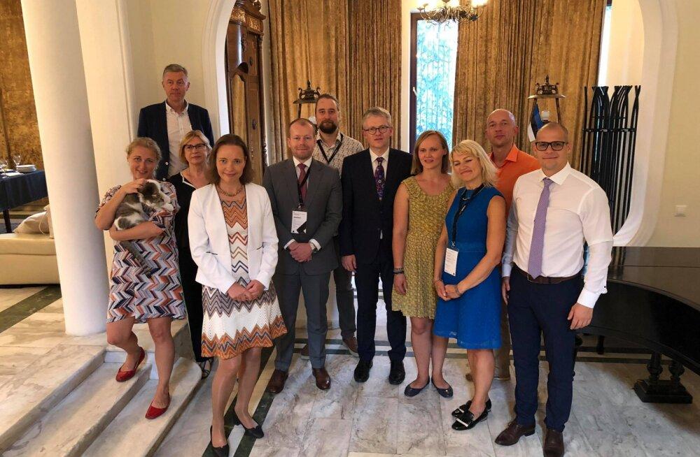 Minister Mäggi: nutikad inimesed ja e-tehnoloogia on Eesti kaubamärk Tbilisi tippkohtumisel