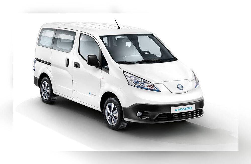 Proovisõit: Nissani elektri-väikekaubik e-NV200 – väikeettevõtja teadlik valik