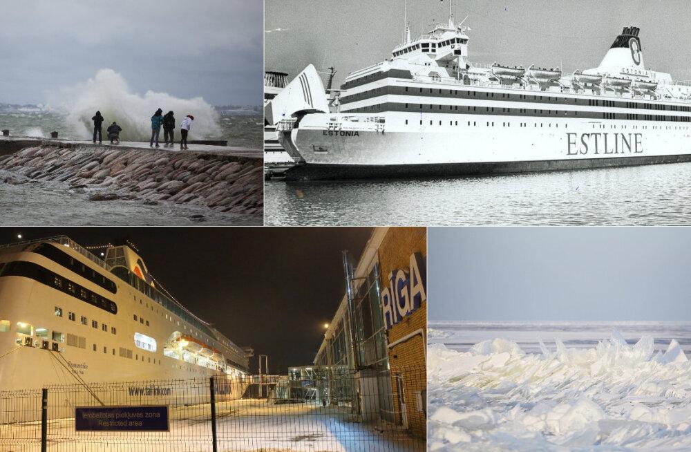 Estonia katastroofi uurinud ekspert: laevafirmad seadsid tormiga merele minnes elusid ohtu