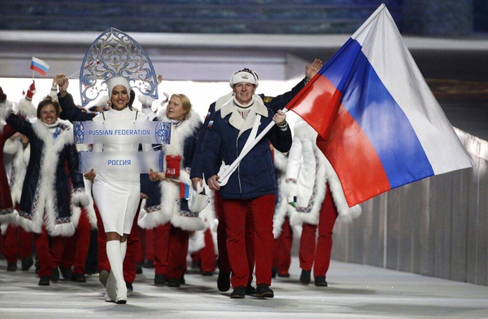 Venemaa koondis Sotši olümpia avamisel