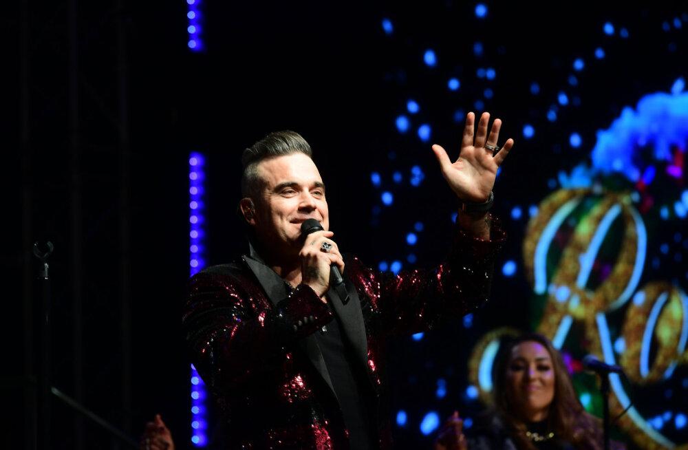 Robbie Williams tunnistab, et oli peaaegu suremas: arvasin alati, et olen kaitstud