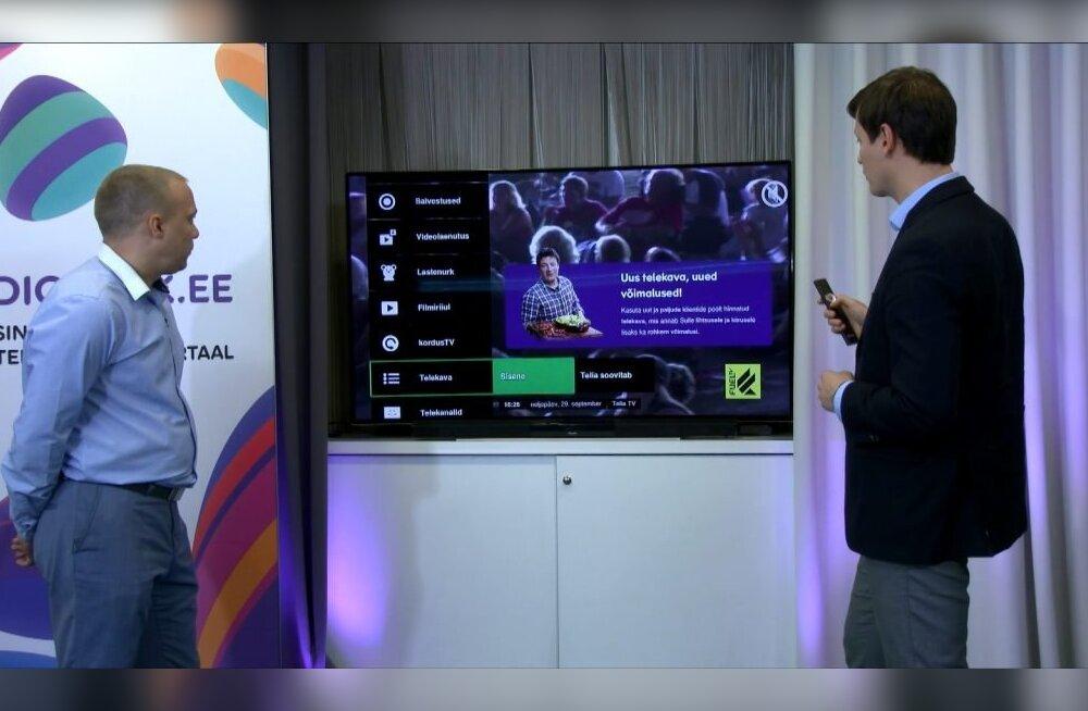 Telia начинает транслировать в Эстонии свой телеканал