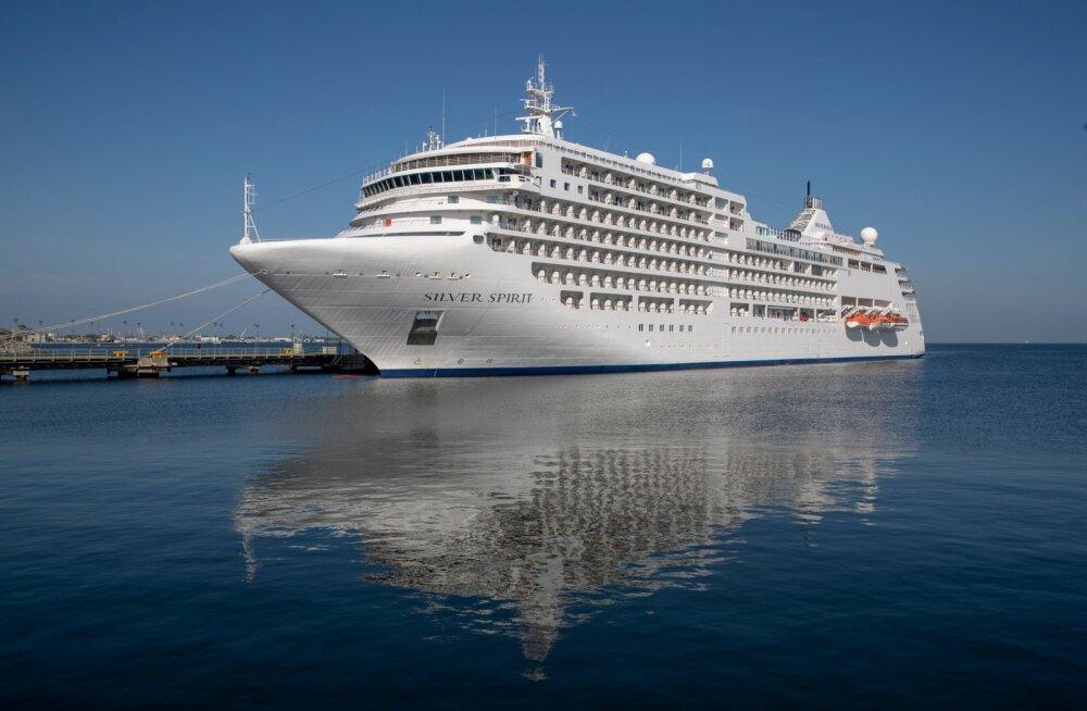 ЭКСКЛЮЗИВНЫЕ ФОТО: Сегодня в Таллинне побывал роскошный круизный лайнер Silver Spirit. Смотрите, чем же он удивляет туристов со всего мира