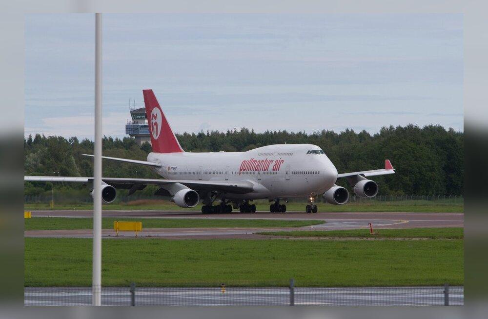 FOTOD: Tallinna lennujaama maandusid võimsad lennukid hispaania turistidega