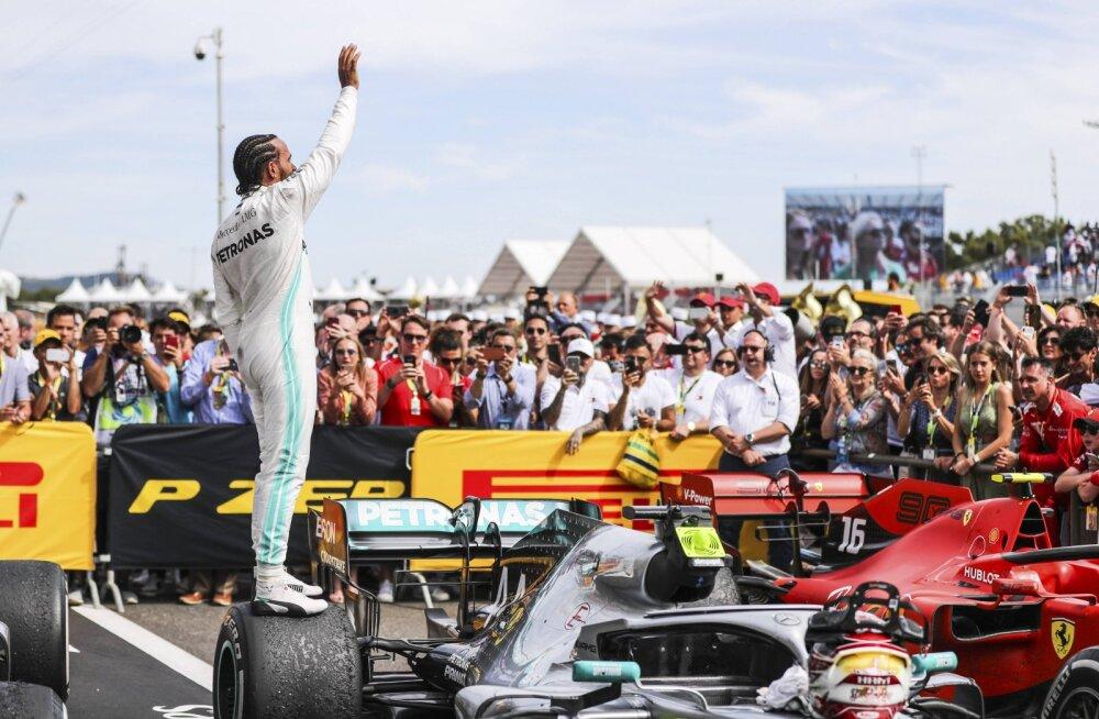 Lewis Hamilton igavast F1-st: ärge süüdistage sõitjaid, vaid vormel-1 juhtkonda