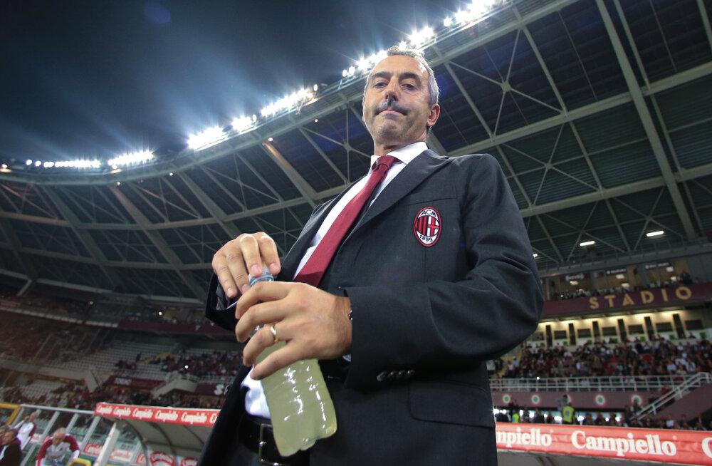 Milani peatreener Marco Giampaolo