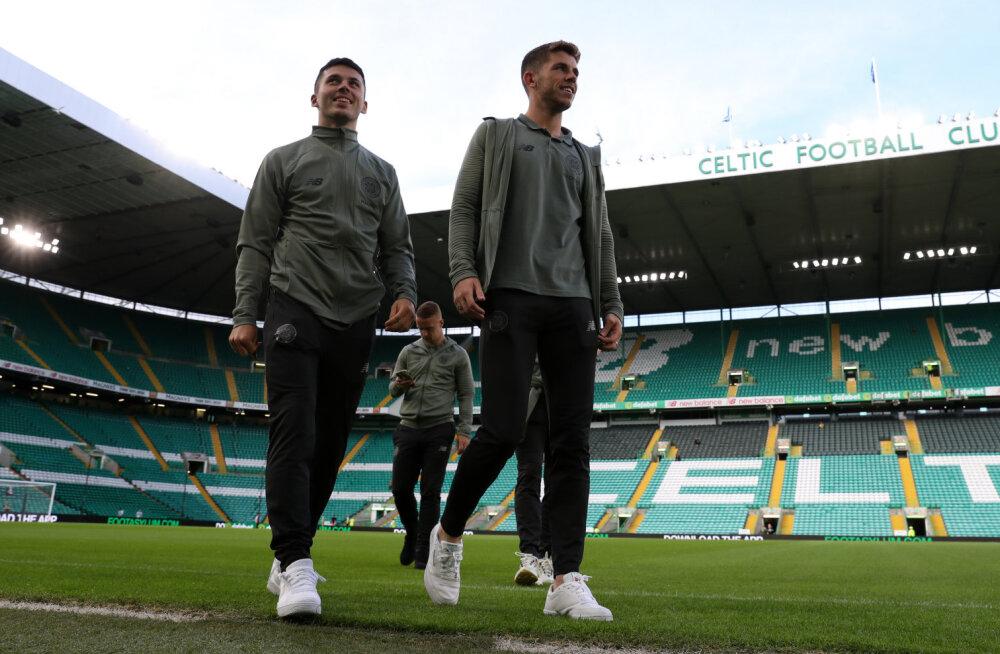 Celtic Tallinnas trenni ei teinud, klubi juhtkond väisab enne mängu Riigikogu hoonet
