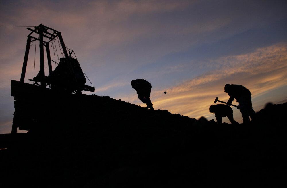 Maailma kivisöetoodang kukkus mullu rekordiliselt