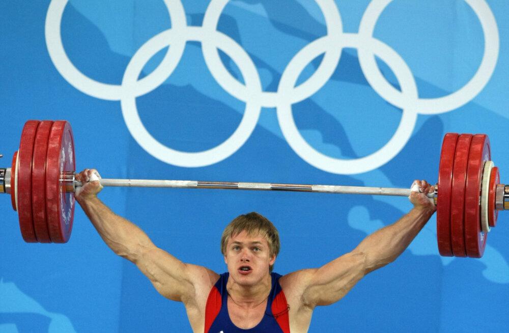 Järjekordsed Venemaa tõstjad jäid dopinguga vahele
