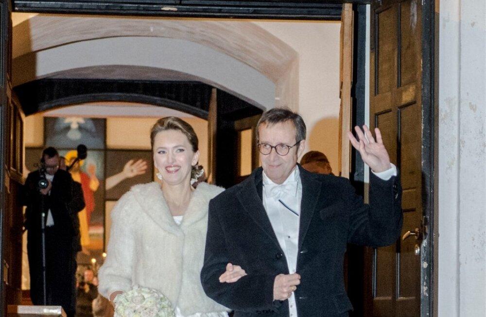 President Ilvese laulatus Halliste kirikus