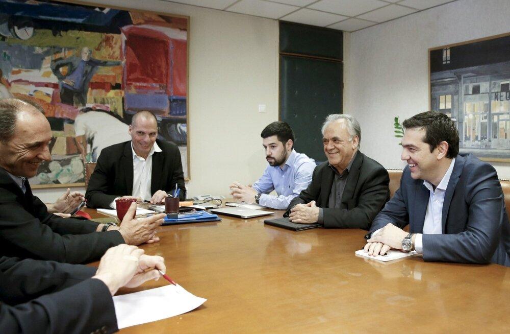 Kreeka majandusminister: me ei saa võlausaldajate viimaseid ettepanekuid vastu võtta