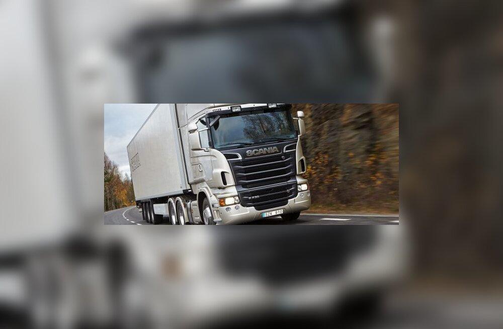 Scania R-seeria sättis paika uue rekkaverstaposti