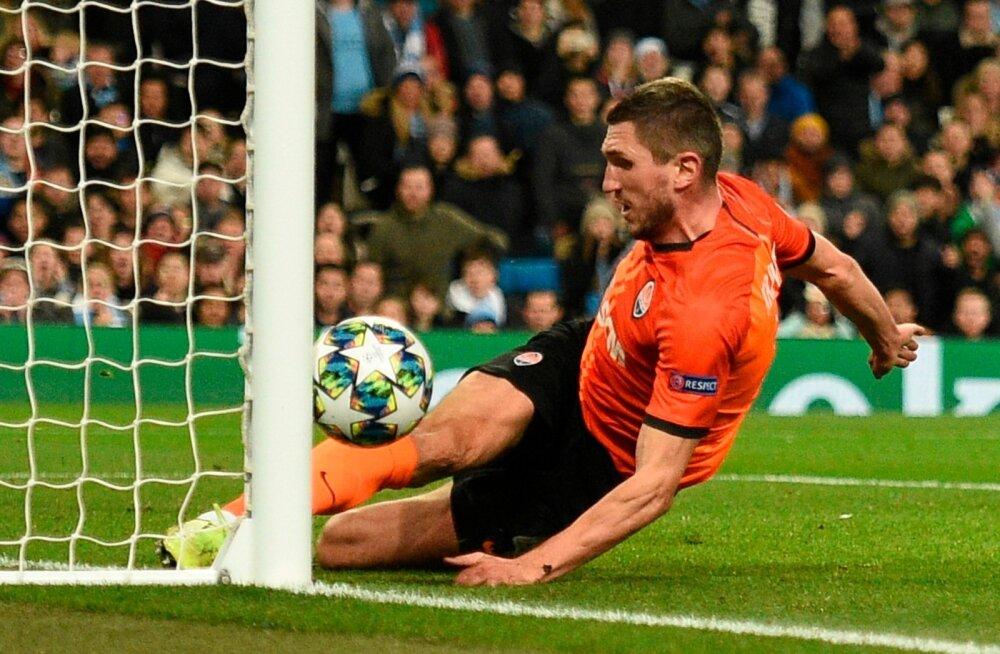 Manchester City vs Shakhtar