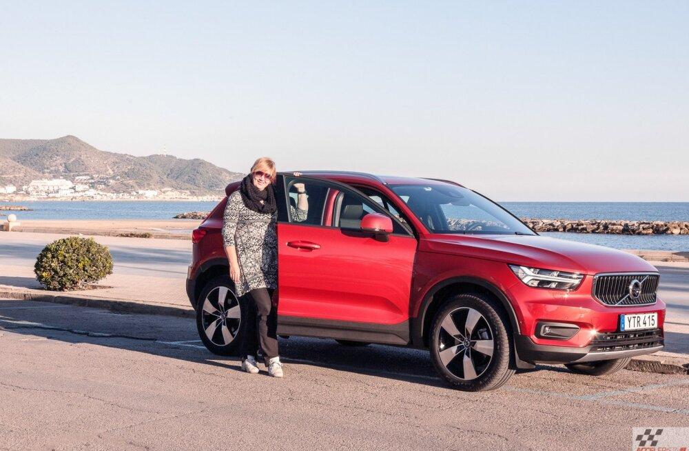 Maailma Naiste Aasta auto 2018 on Volvo XC40 nunnumaastur