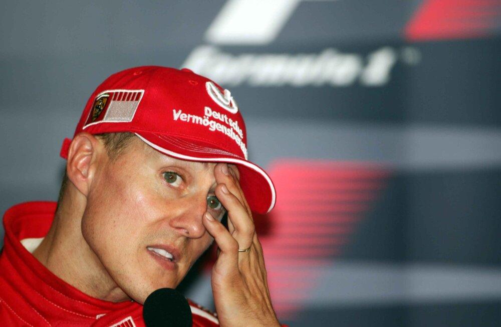 Endine tiimikaaslane rääkis välja tõe Michael Schumacheri kurikuulsa äparduse kohta