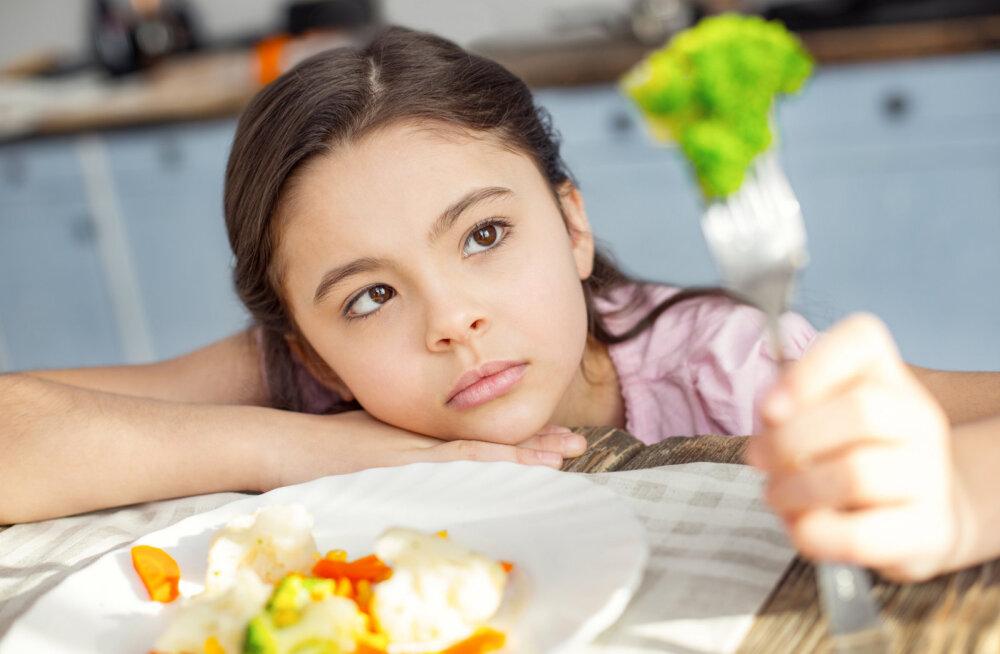 Kui perekonnas on söömisega keeruline