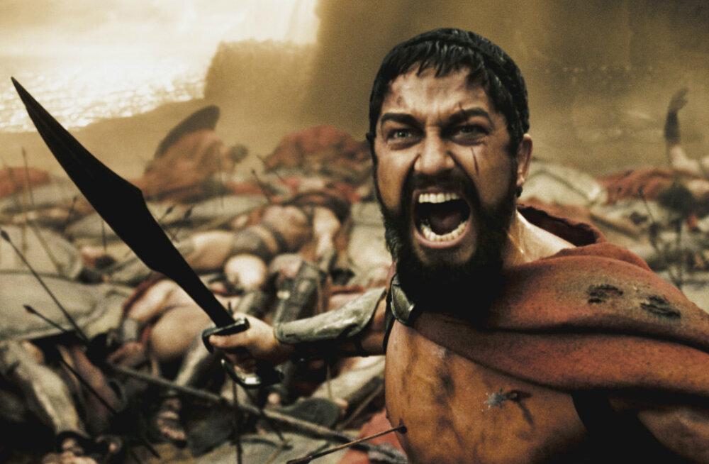 """""""Это Спарта!"""": Джерард Батлер рассказал историю создания культовой сцены из фильма """"300 спартанцев"""""""