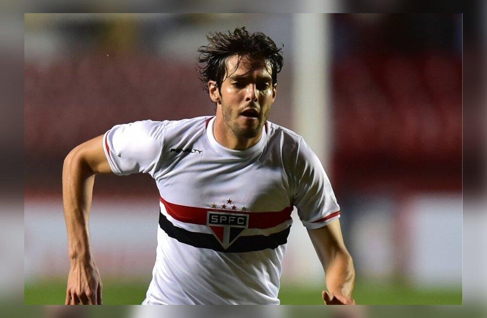 Kaka mängib laenulepinguga Sao Paulo meeskonnas