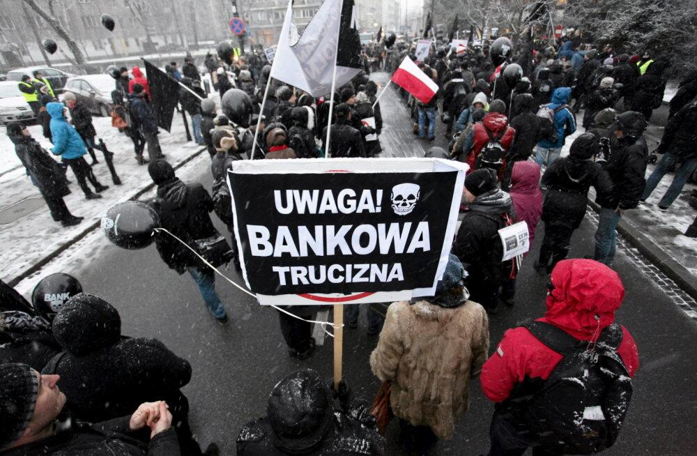 Poola eluasemelaenude fiasko jõuab Euroopa Kohtusse