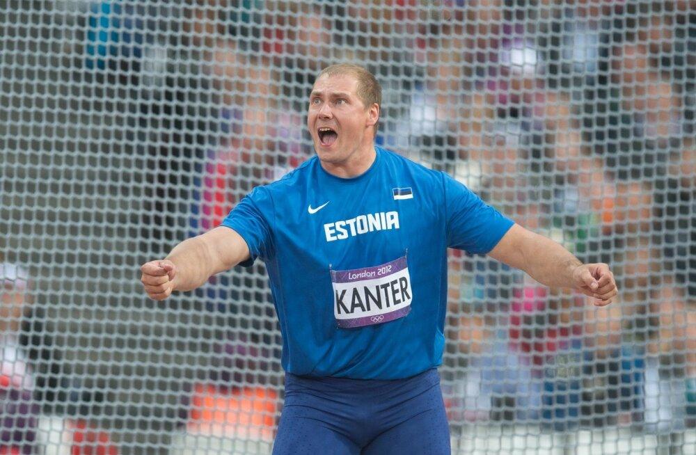 Alguses oli Gerd Kanteril kõva kisa ja kehv tehnika, pärast ränka tööd tulid medalid.
