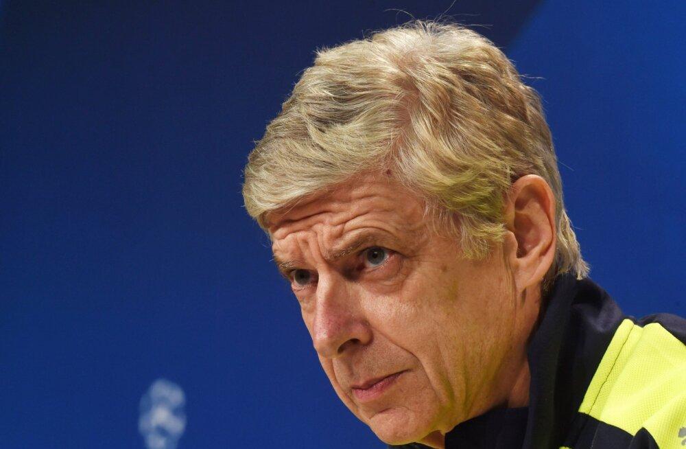 Arsene Wenger: viimased 25 minutit olid kui õudusunenägu