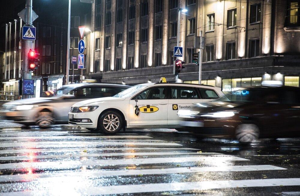 Takso Tallinna liikluses