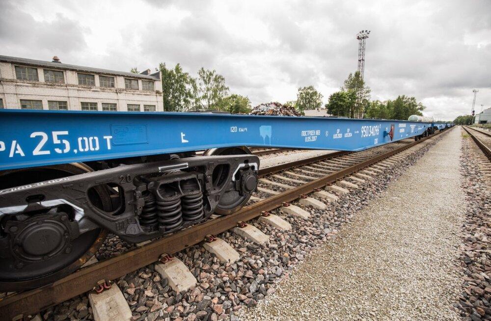EVR Cargo platvormvagunid