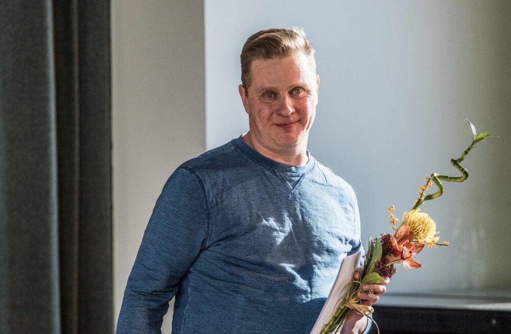Näidendivõistluse võitja Ott Kilusk
