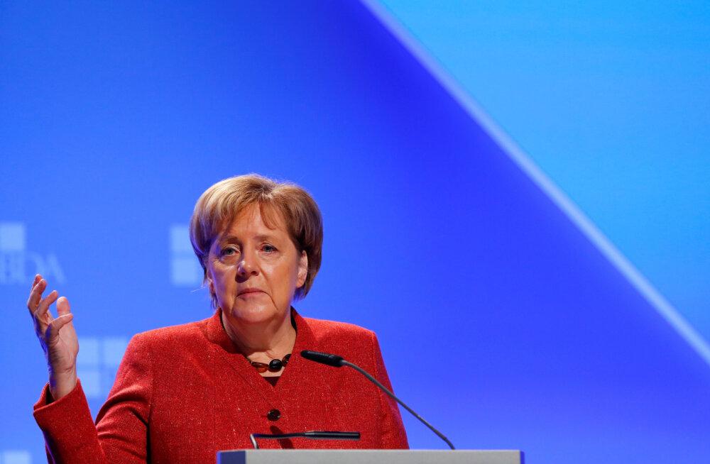 """Merkel oma kurikuulsas """"suveräänsuse loovutamise"""" kõnes: rahvusparlamendid on asendamatud"""