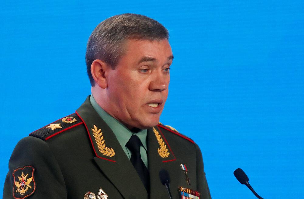 Vene kindralstaabi ülem: NATO väed valmistuvad suuremõõtmeliseks konfliktiks