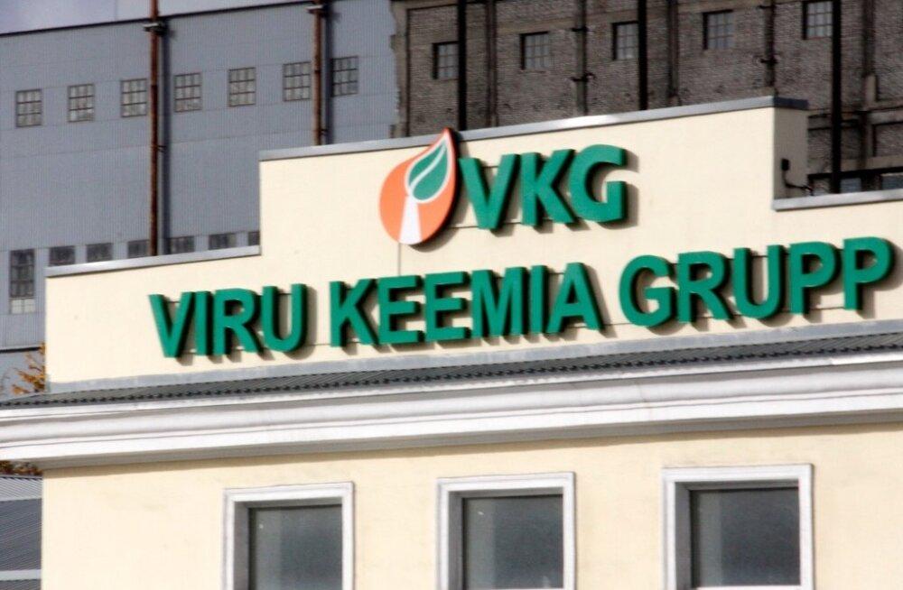 Дипломаты посетили Viru Keemia Grupp