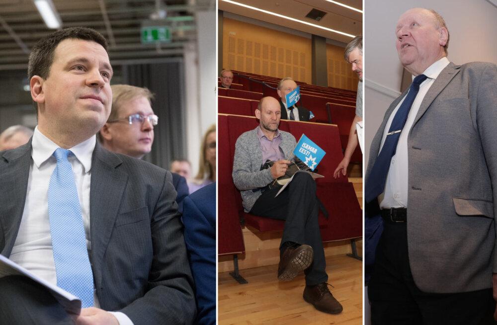 POLIITBLOGI | EKRE, Keskerakond ja Isamaa peavad volikogusid. Koalitsioonikõneluste käigus on olnud erimeelsusi