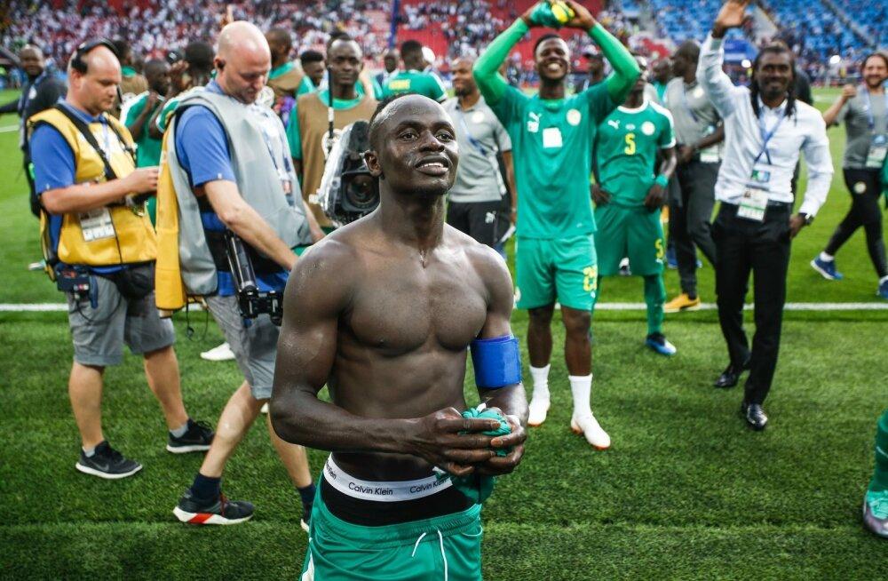 Senegali koondise suurim staar Sadio Mane võib rõõmustada.