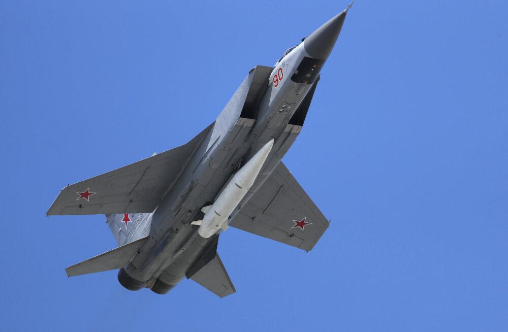 Venemaa katsetas Arktikas hüpersoonilist raketti Kinžall