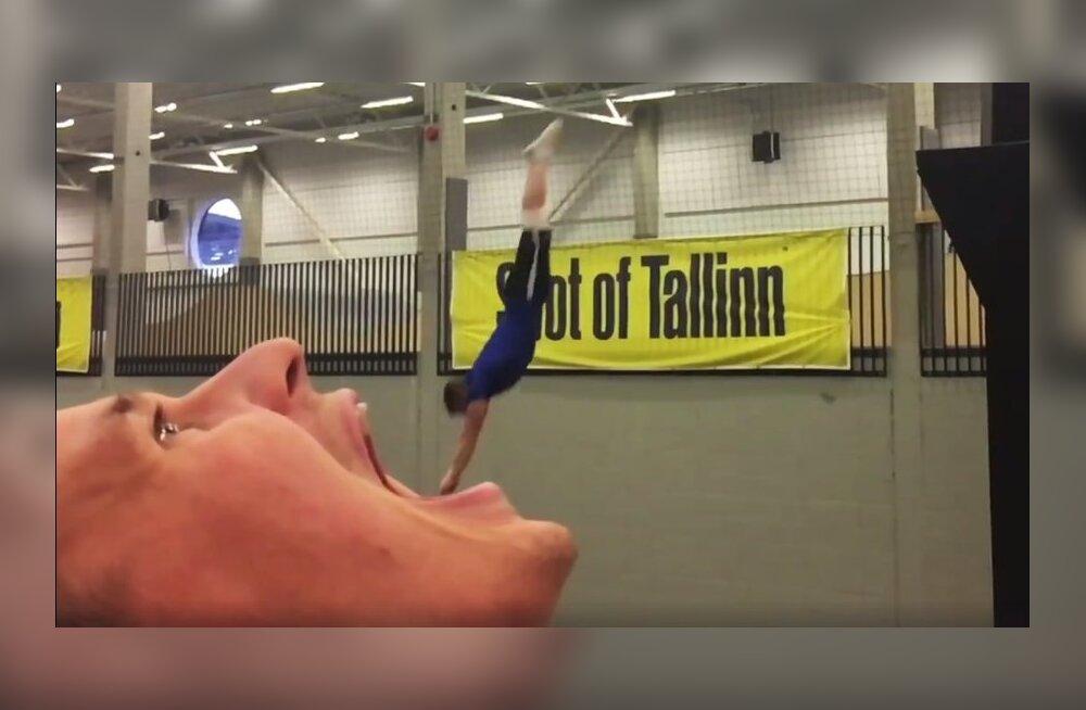 VIDEO   Seda Eesti akrobaatide trikivideot on vaadatud pea 8 miljonit korda!