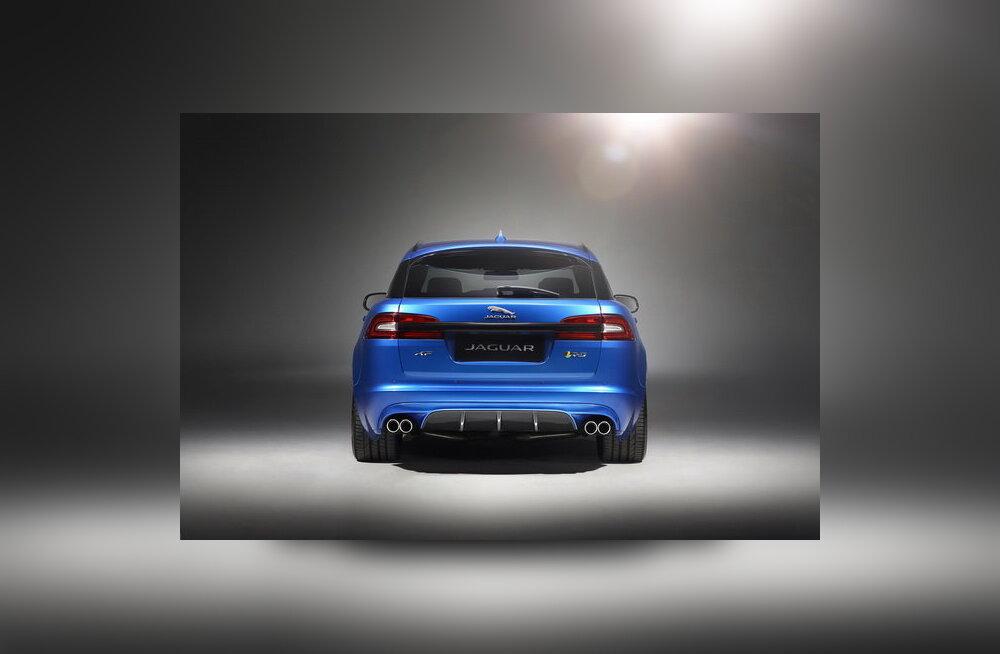XFR-S Sportbrake - Jaguar näitab märtsis Genfis uut universaali