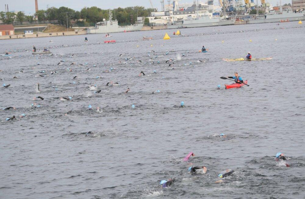 Pime paratriatleet tahab Tallinnas läbida oma esimese Ironmani võistluse