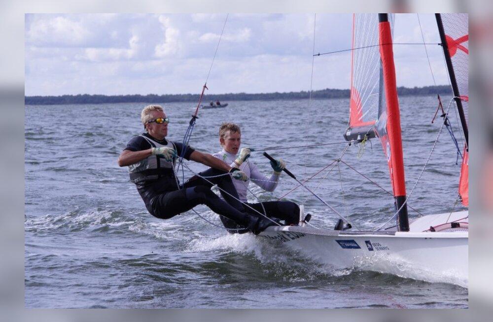 Juuso Roihu ja Henri Roihu (29er klass)