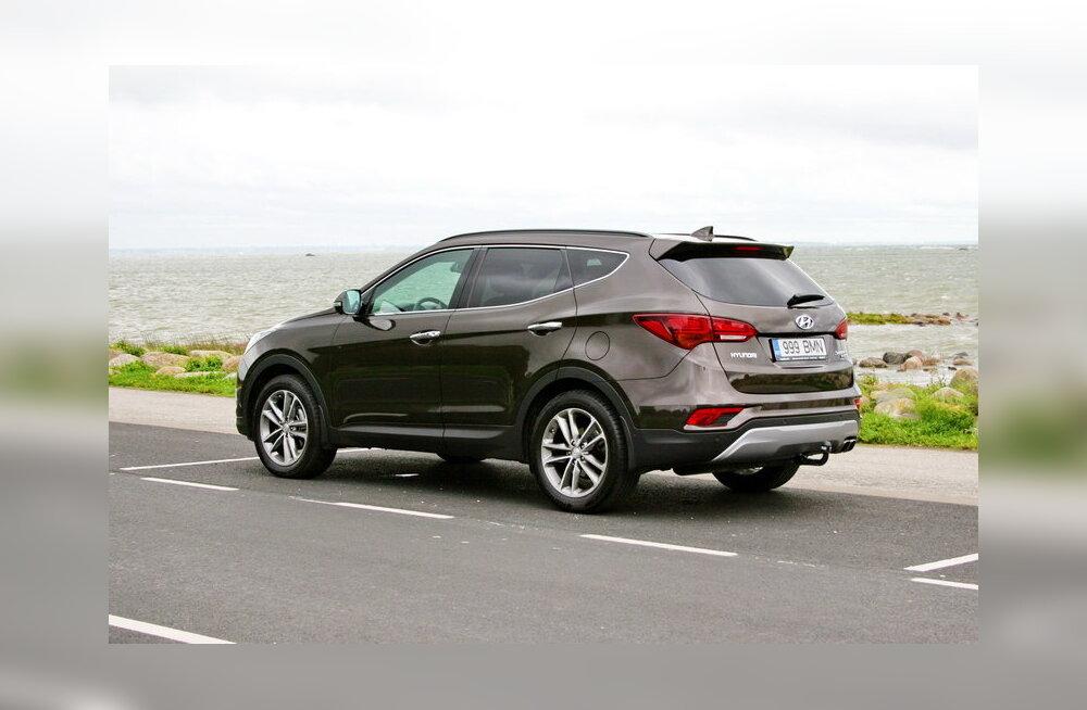 Hyundai Santa Fe: tasakaalukas toriseja ehk neljal rattal seitse kohta
