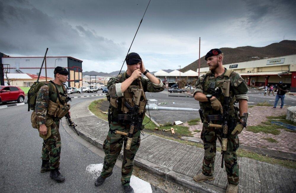 Hollandi peaministri sõnul on Sint Maartenil orkaani järel tõsine probleem rüüstamine