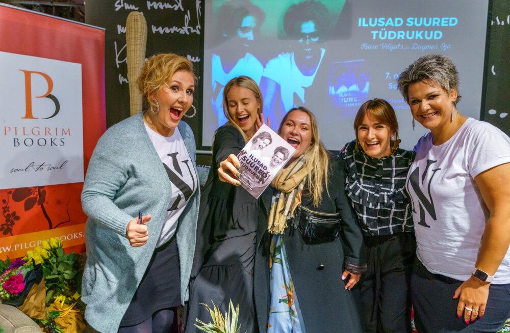 """GALERII: Kaire Vilgats ja Dagmar Oja esitlesid uut raamatut """"Ilusad suured tüdrukud"""""""