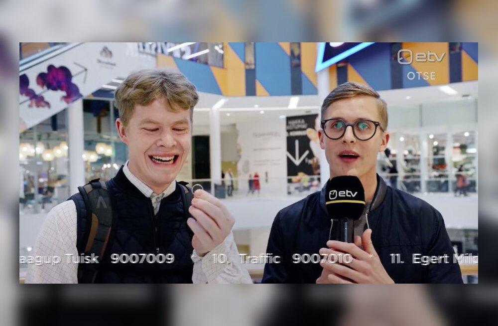 Kas Eesti Laulu vaheklipid olid reklaam kliendipuuduses T1 kaubanduskeskusele?
