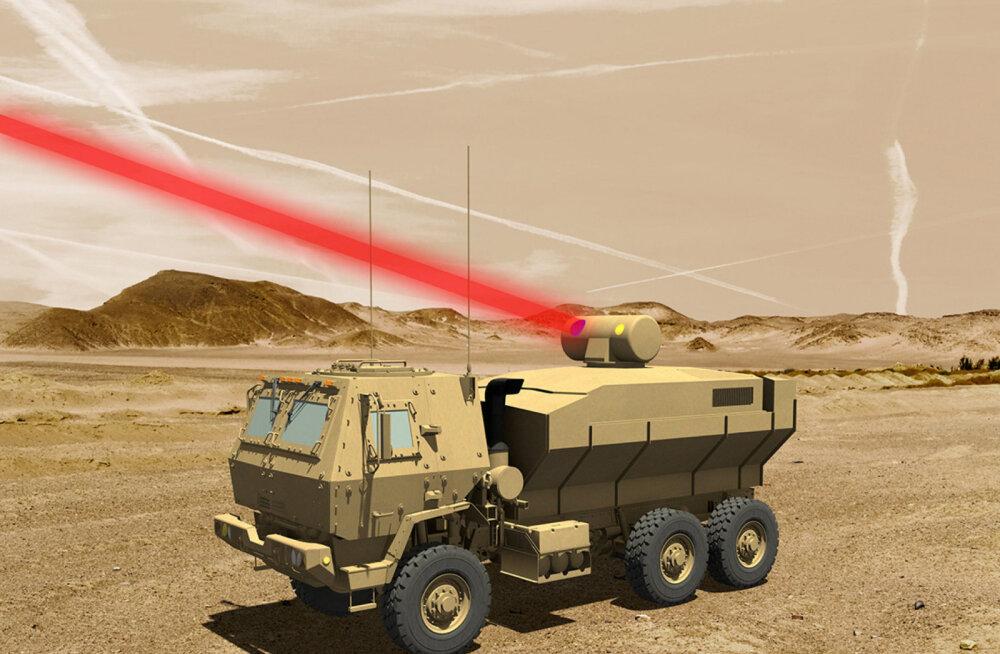Võimas laserkahur, mille USA armee nüüdsest oma käsutusse saab