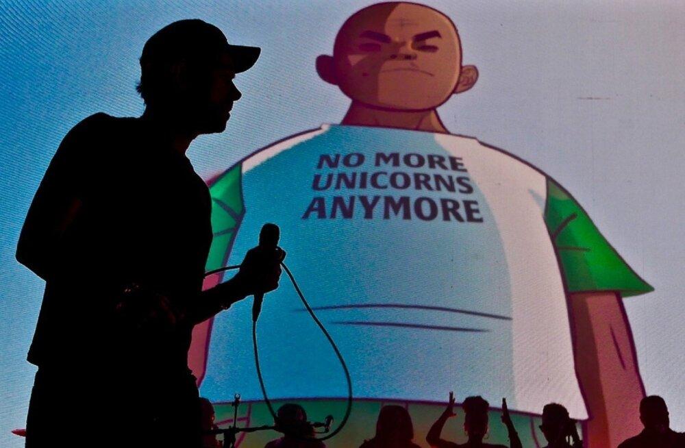 Vaid täna õhtul näeb kinos dokumentaalfilmi virtuaalansamblist Gorillaz
